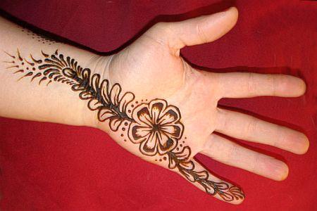 Herbal Henna Design